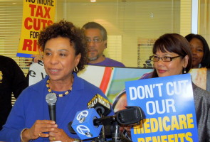 Congresswoman Barbara Lee.