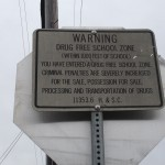 This sign is posted near the corner of Brann and 55th Avenues - which is in close proximity to an elementary school I once attended. In addition to signage like this, I'd imagine that the eyes and voices of the community help in keeping drug activity to a minimum. Katherine Brown -Oakland Voices