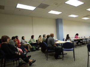 Public section of the Alameda County Mental Health Board (February 2013)