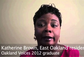 Martin Reynolds: Introduces the Oakland Voices Project