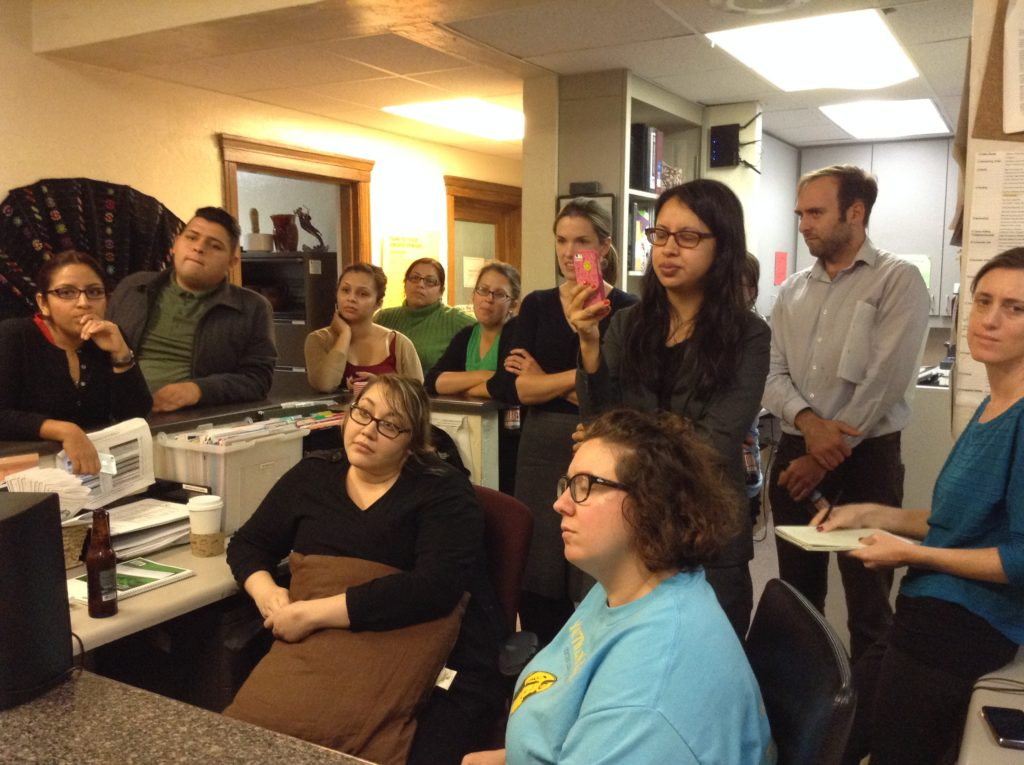 Fruitvale Legal Center expects large crowds after President's Announcement