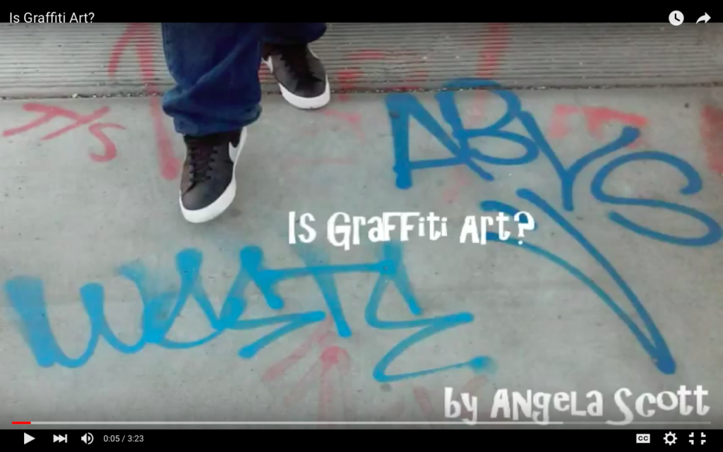 Is Graffiti Art? A Video Story