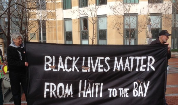 Black Lives Matter from Haiti to Oakland