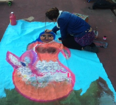 Sights and Sounds: An Artist Paints in Athol Park – A Radio Story