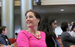 Mayor Libby Schaaf in Council chambers during City Camp.