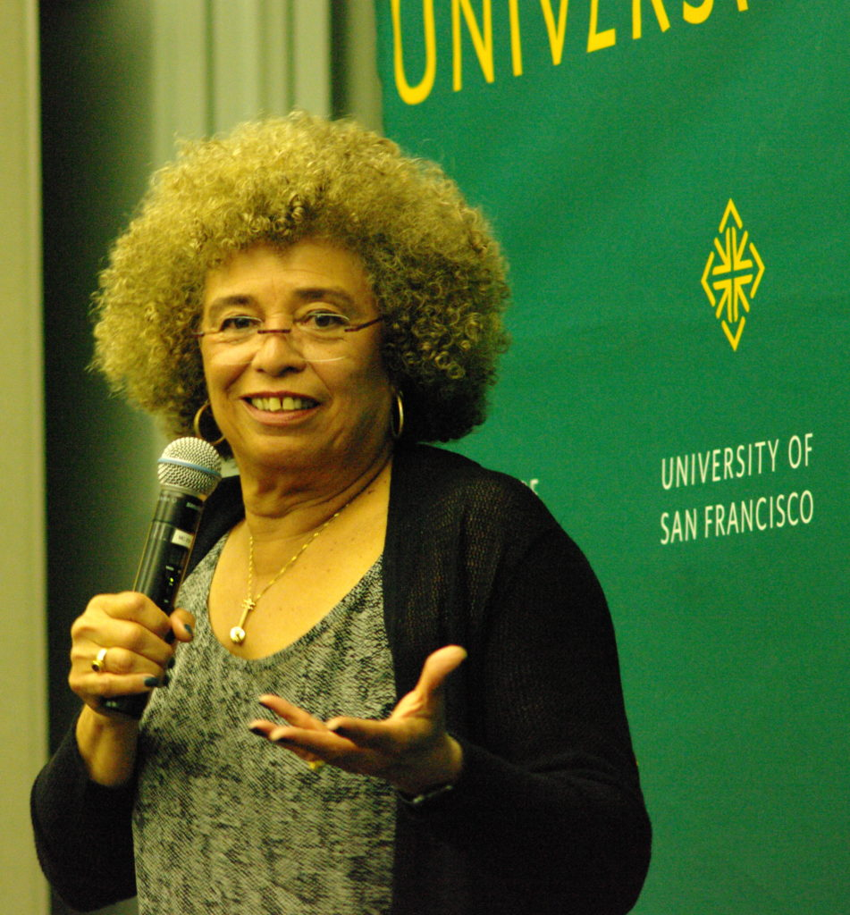Angela Davis talks about Black Lives Matter, Beyoncé and feminism