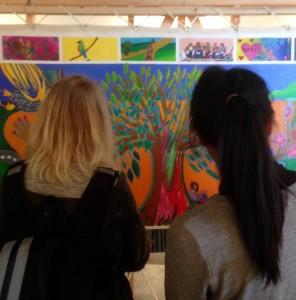 mural women