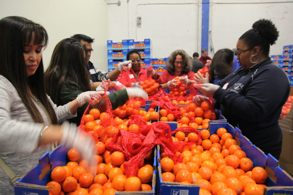 Alameda County Community Food Bank combats Hunger