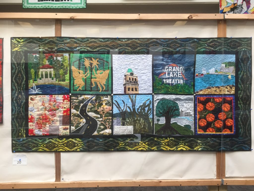 Stitched Together:  Quilts Highlight the Beauty of Oakland
