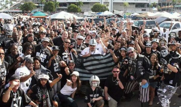 Forever the Heart of the Raider Nation