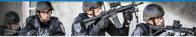 Heavily-armed law enforcement Urban Shield