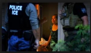 ICE raid on a home KTLA