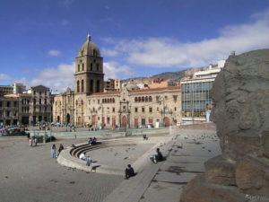 Iglesia San Francisco La Paz, Bolivia
