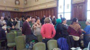 Talking Attendees Sanc Educ 2017.2.18