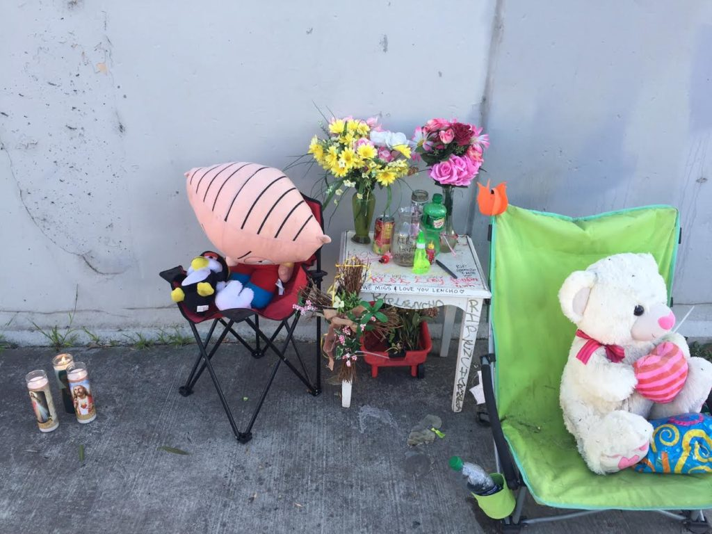 Sidewalk Memorials:  A Softer Side of Oakland