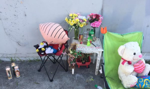 Sidewalk Memorials:  A Softer Side of Oakland