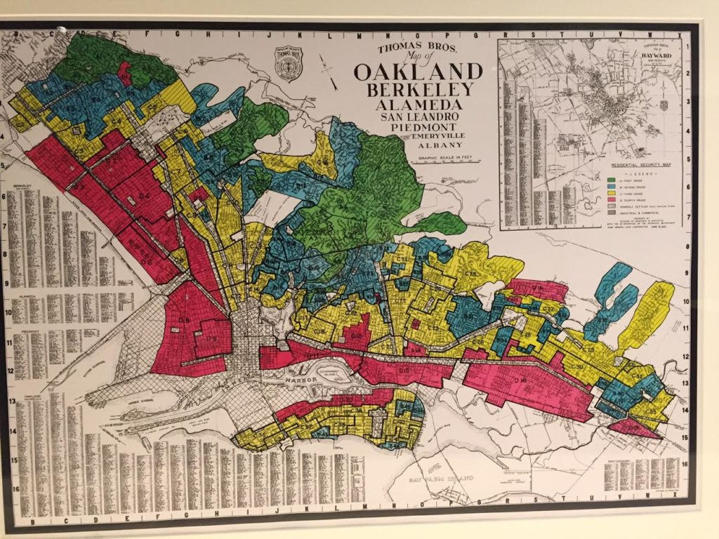 """Why do poor neighborhoods in Oakland have less?"""
